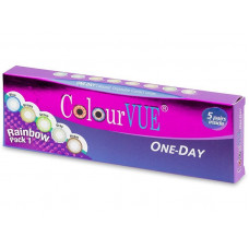 ColourVue One Day TruBlends Rainbow - bez dioptrije (10 leća)