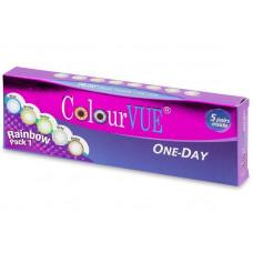 ColourVue One Day TruBlends Rainbow - bez dioptrije (10 leća)